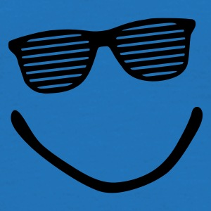 Kongeblå smile sunglasses Vesker - T-skjorte for menn
