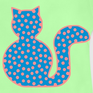 Leaf green cat spotted 1 Bags  - Baby T-Shirt