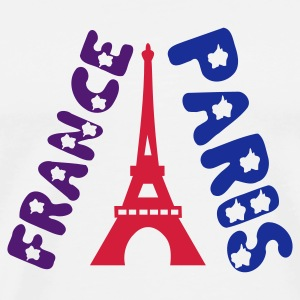 PARIS FRANCE MUG - Men's Premium T-Shirt