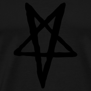HELLTED - Teddy with Pentagram - Premium T-skjorte for menn