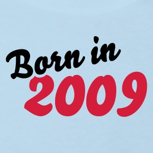 Babyblau Born in 2009 Baby Body - Kinder Bio-T-Shirt