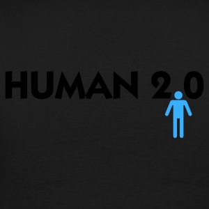 Black Human 2.0 (2c) Hoodies & Sweatshirts - Men's Premium T-Shirt