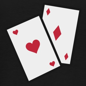Sort GamblingCards_3c_1 Sweatshirts - Herre premium T-shirt