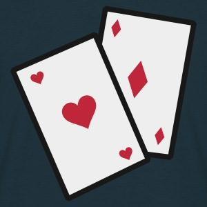 Marine GamblingCards_3c_1 Tabliers - T-shirt Homme