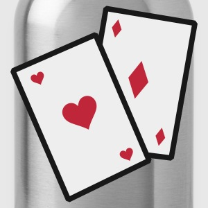 Navy GamblingCards_3c_1 Kookschorten - Drinkfles