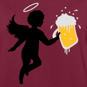 Bordeaux angel beer Kookschorten - Vrouwen oversize T-shirt