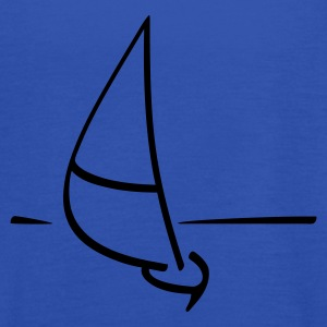 Navy Sailing ship Women's T-Shirts - Women's Tank Top by Bella