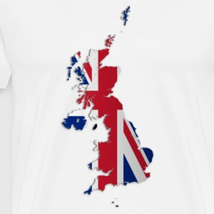 Map of the UK and Crown Dependencies - Männer Premium T-Shirt