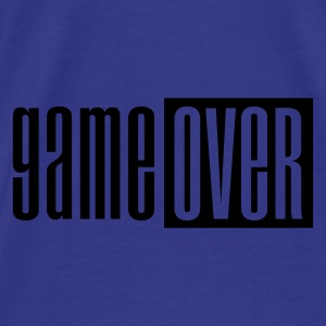 Violet Game over deluxe Sacs - T-shirt Premium Homme