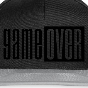 Sort Game over deluxe Baby-bodyer - Snapback Cap