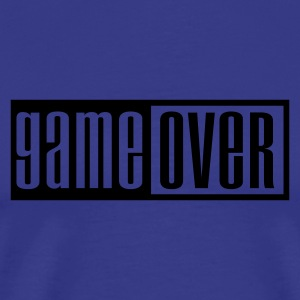 King's blue game over outline Kids' Tops - Men's Premium T-Shirt