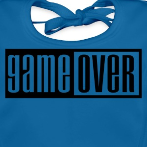 Navy game over outline Kids' Shirts - Baby Organic Bib