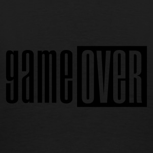 Zwart Game over deluxe Jacks - Mannen Premium T-shirt