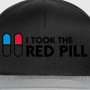 Noir I Took The Red Pill (3c) Sweatshirts - Casquette snapback