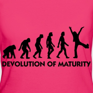 Jeansblauw Devolution of Maturity (1c) Tassen - Vrouwen Bio-T-shirt