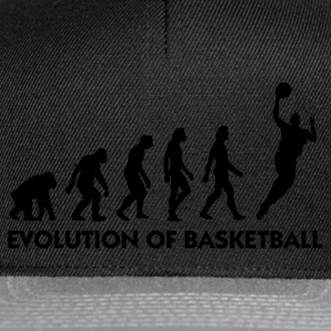 Noir Evolution of Basketball 2 (1c) Sweatshirts - Casquette snapback