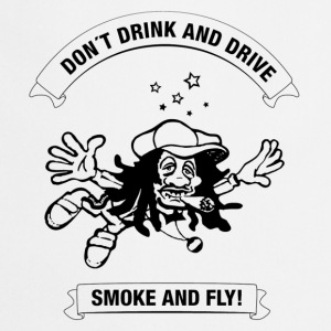 White why drink and drive smoke and fly Men's T-Shirts - Cooking Apron