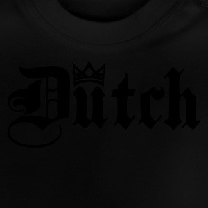 Marineblå Dutch with Crown Børne sweatshirts - Baby T-shirt