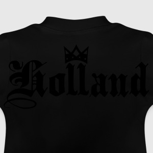 Marineblå Holland with crown Børne sweatshirts - Baby T-shirt