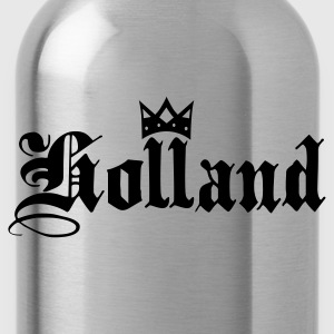 Black Holland with crown Kids' Shirts - Water Bottle