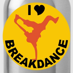Rouge breakdance T-shirts - Gourde