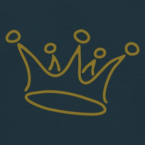 crown_gold - Mannen T-shirt