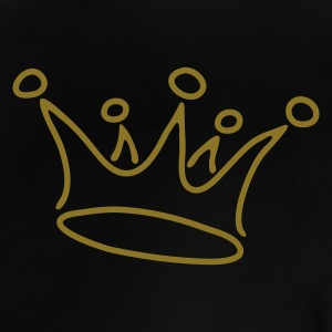 crown_gold - Camiseta bebé