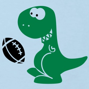 American Football Dino T-shirts - Ekologisk T-shirt barn