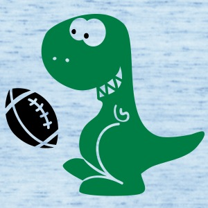 American Football Dino Shirts - Vrouwen tank top van Bella