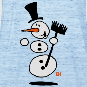 Dancing snowman Shirts - Women's Tank Top by Bella