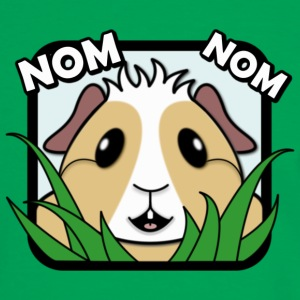 'Nom Nom' Guinea Pig Shopping Bag - Men's Ringer Shirt