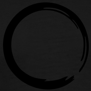Enso Zen circle of enlightenment, meditation, Japan symbols, T-Sirts & Hoodies - Men's Premium T-Shirt