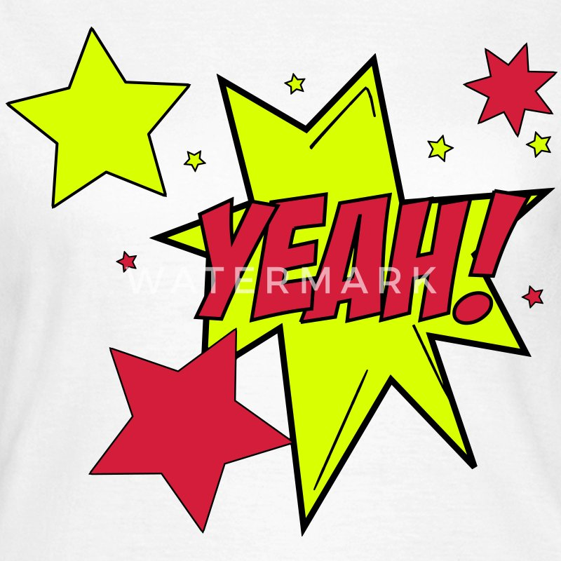 Comic Style Yeah! Star Stars Cartoon 3c T-Shirts - Women's T-Shirt