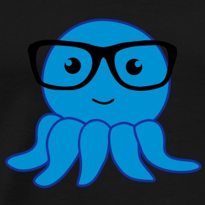 octopus nerd Hoodies & Sweatshirts - Men's Premium T-Shirt