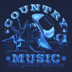 country music T-Shirts - Baseball Cap