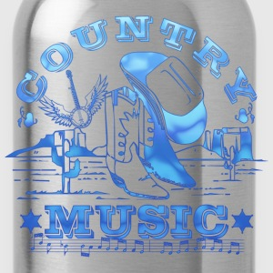 country music T-Shirts - Water Bottle