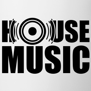 House Music, speakers, headphones, bass, drum Hoodies & Sweatshirts - Mug