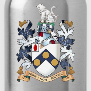 "James Bonds coat-of-arms and family motto ""The w - Water Bottle"