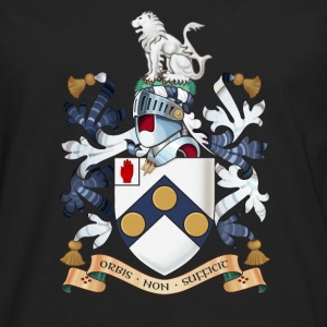 "James Bonds coat-of-arms and family motto ""The w - Men's Premium Longsleeve Shirt"