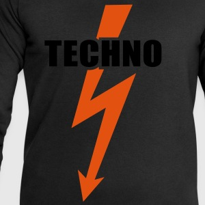 Techno music Bass Beats Drums Hardstyle T-Shirts - Men's Sweatshirt by Stanley & Stella