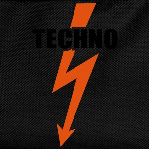 Techno Beats musique  Basse Batterie  Sweat-shirts - Sac à dos Enfant