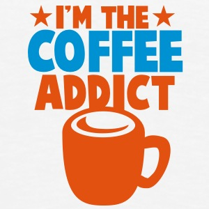 I'm the COFFEE addict! Bottles & Mugs - Men's Premium T-Shirt