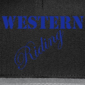 Western Riding T-Shirts - Snapback Cap