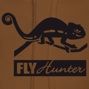 Gul Fly Hunter T-shirt - Premiumluvtröja dam