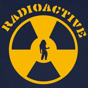 Sky Radioactive Girl T-Shirts - Baseball Cap