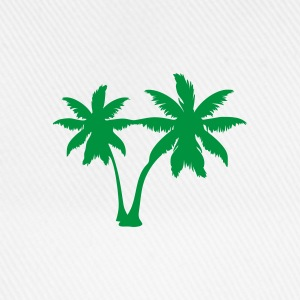 White palm trees Ladies' - Baseball Cap