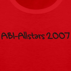 Red allstars Ladies' - Men's Premium Tank Top