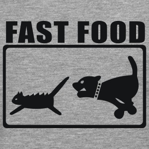 Ash Fast Food 2 T-Shirts - Men's Premium Longsleeve Shirt