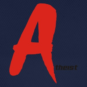 `Red A' Atheist T-Shirt - Baseball Cap