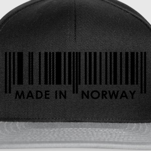 Black Bar Code Made in Norway Ladies' - Snapback Cap